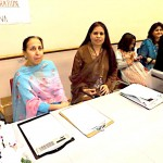 Two members of the Pakseana Matrimonial Services team