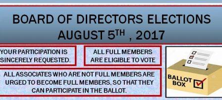 BOARD OF DIRECTORS ELECTIONS